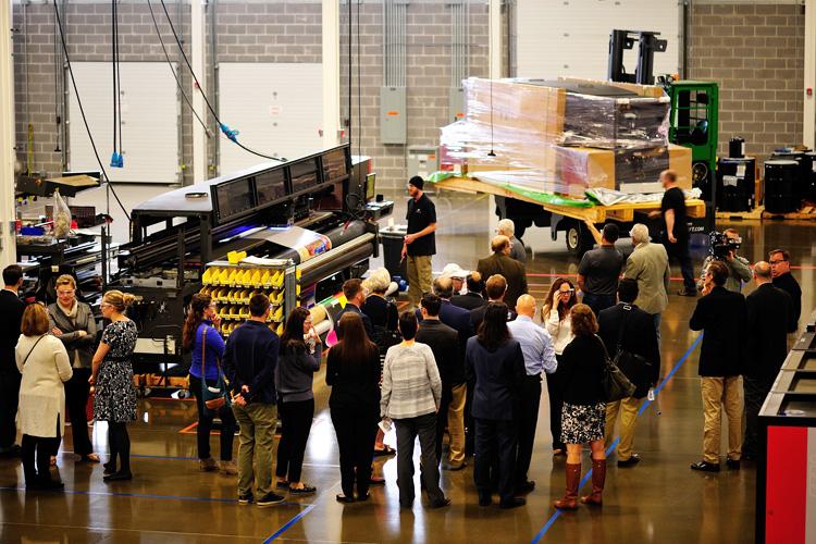 EFI traslada el centro Inkjet de EE. UU. a una planta de última generación