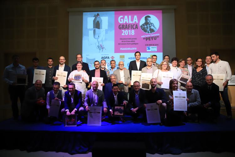 El Gremi de la Indústria i la Comunicació Gràfica de Catalunya entrega los premios del Concurso de Artes Gráficas