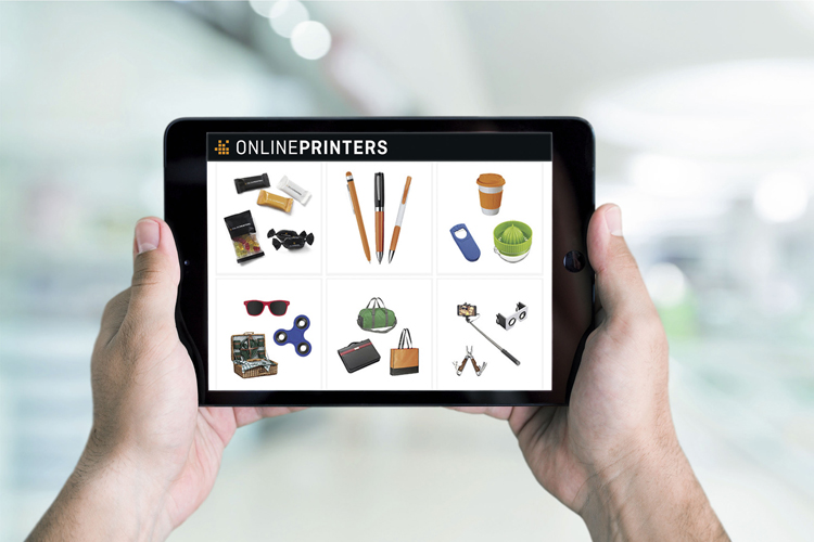 Onlineprinters le añade 800 artículos promocionales a su gama