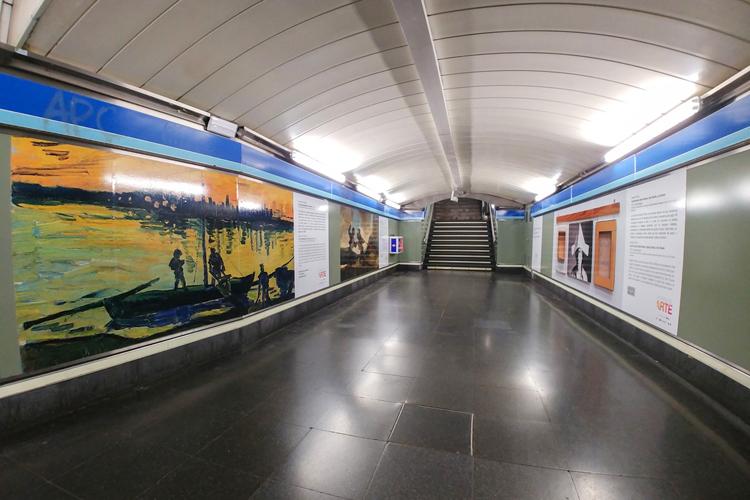 Atocha se convierte en Estación de Arte gracias a las tintas de última generación UVgel ultrarresistentes de Canon