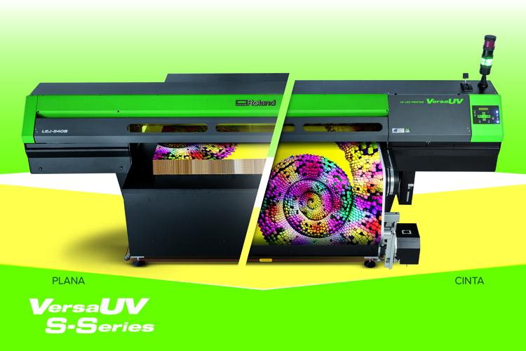 Máxima calidad y versatilidad en impresión UV con la serie VersaUV S de Roland DG