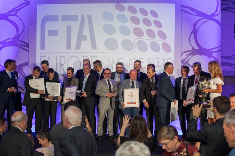 Gran éxito de los usuarios de planchas KODAK FLEXCEL NX en los Premios Diamante 2018 de FTA Europe