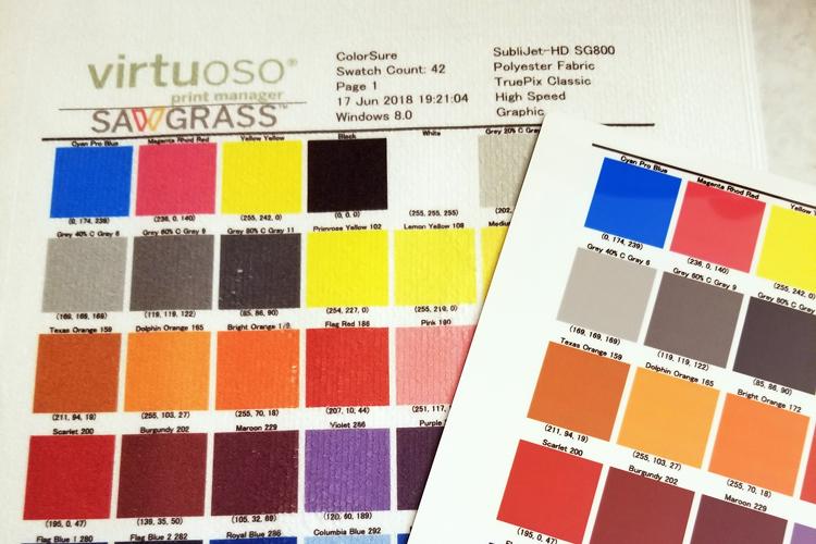 Sawgrass ofrece cuatro sugerencias para gestionar de una manera eficaz el color de sublimación
