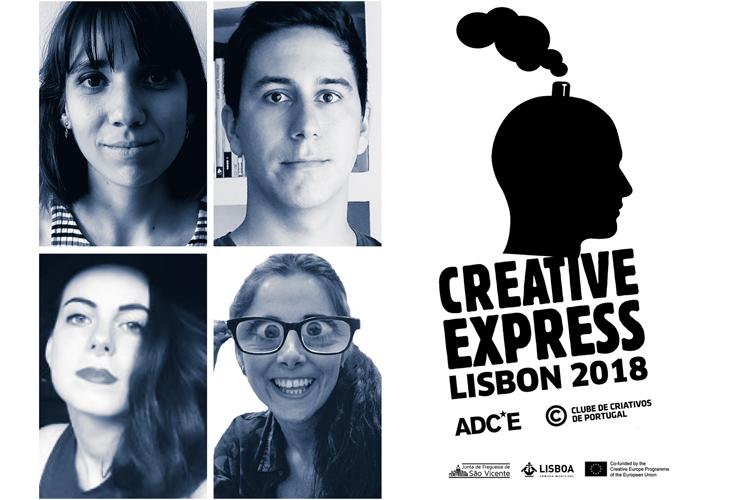 Cuatro españoles participan en la 7ª edición del Creative Express, que reúne a jóvenes talentos creativos de toda Europa