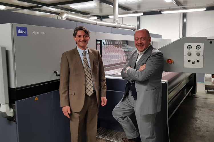 Gabel grows export and retail business with first major investment in Durst Alpha Series
