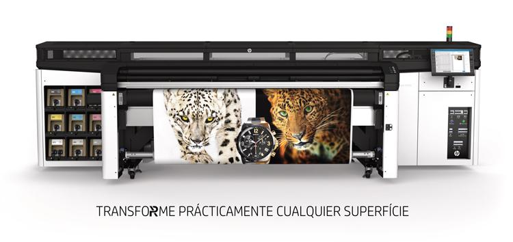 HP presenta, por primera vez en España, una revolucionaria impresora Latex