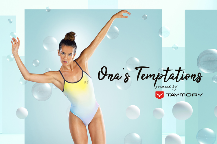 Taymory presenta la nueva colección diseñada por la olímpica Ona Carbonell y producida con el soporte de Roland DG