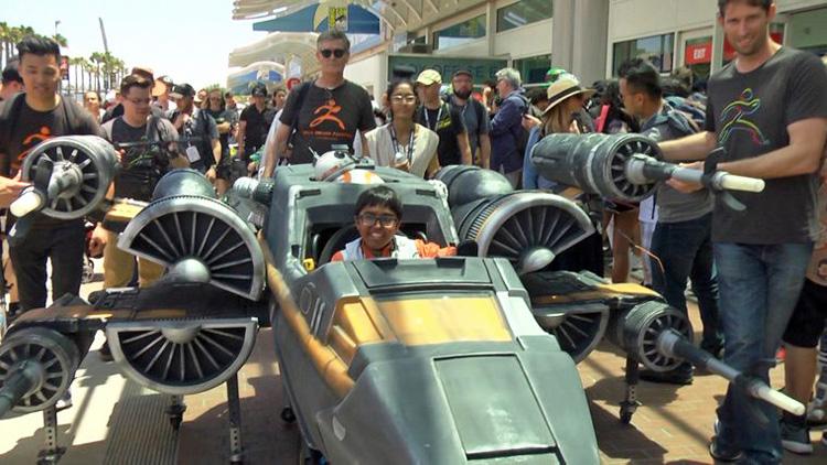 Massivit 3D utiliza la fuerza de la impresión 3D para hacer realidad el sueño de un adolescente con la creación de una nave Ala-X de Star Wars montada en una silla de ruedas