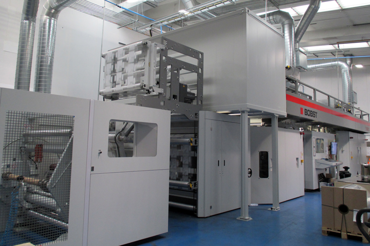 Ultimate Packaging invierte en su 4ta .a impresora flexo de tambor central BOBST 20SIX CS