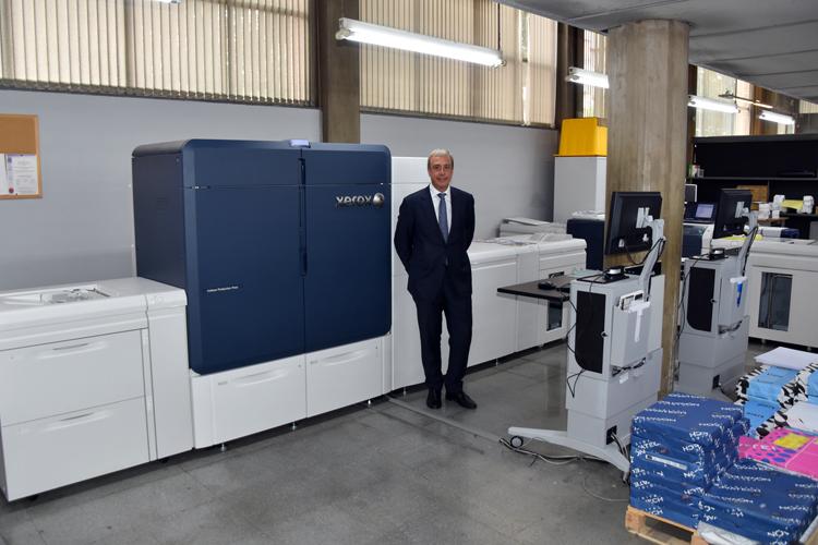 Soficat Xerox instala la primera Iridesse en Escenari Gràfic
