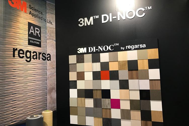 3M presenta sus últimas novedades en materiales decorativos DI-NOC™ y láminas de control solar