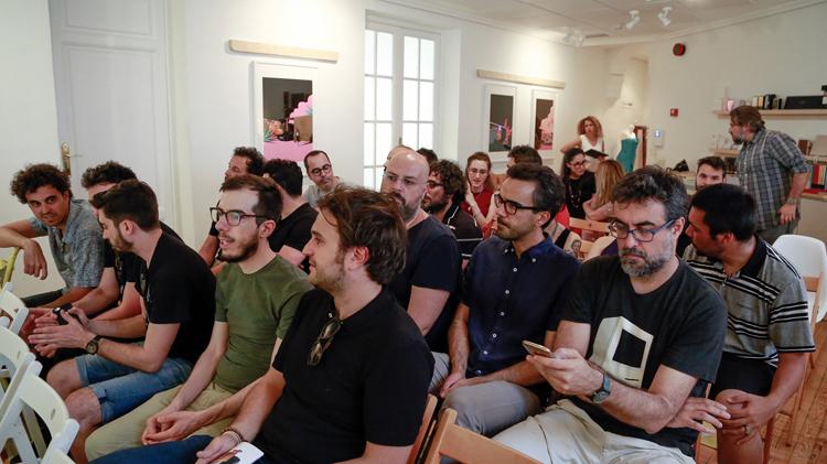 Conferencia de Apértif & PlayRestart en el Fedrigoni Club de Madrid