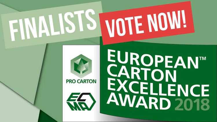 Finalistas al premio Pro Carton por excelencia: ¡Vota al mejor!