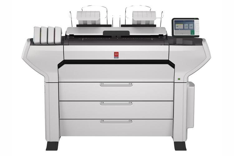 Canon lanza la nueva gama de impresoras de gran formato Océ ColorWave 3000 para documentación técnica