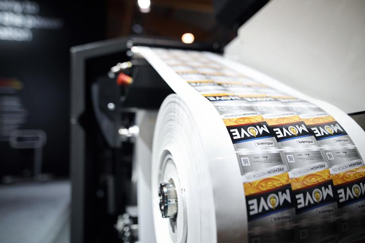 Mouvent presentará sus revolucionarias innovaciones para la impresión digital de etiquetas en Labelexpo Americas 2018
