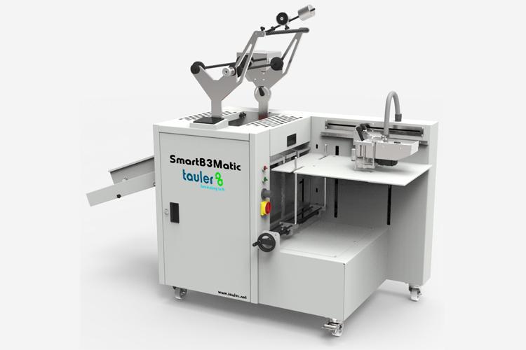 Tauler asiste al Salón C!Print Madrid con la laminadora SmartB3Matic y el kit Tauler FOIL