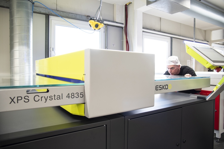 Schur® Star Systems GMBH simplifies Its flexo platemaking with Esko's CDI Crystal 4835 XPS
