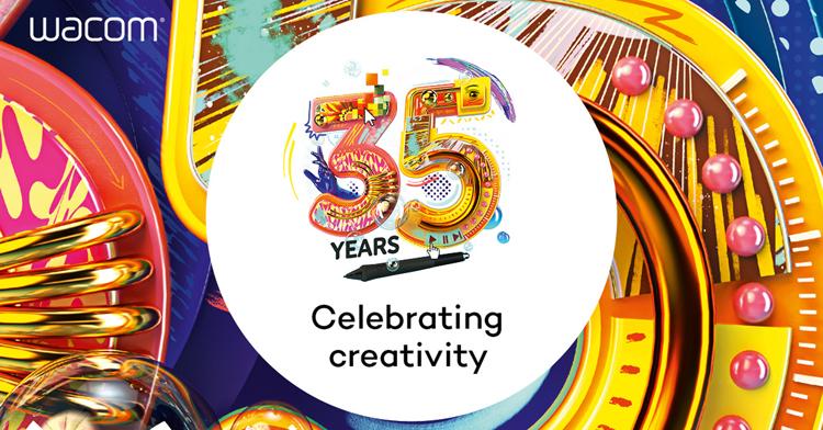 Wacom celebra 35 años de liderazgo en creatividad y tecnología