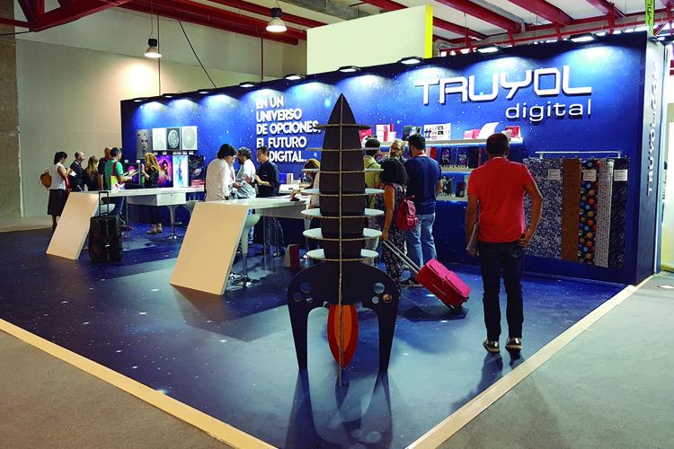 Truyol Digital presenta la impresión del futuro en C!Print Madrid 2018