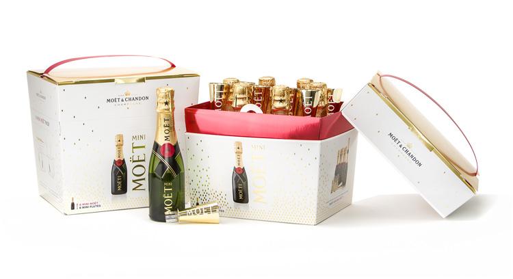 El pack de seis botellas mini de Moët & Chandon se alza con el premio ProCarton a mejor envase del año