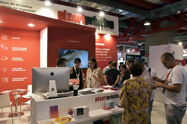 Cálida acogida en la primera vez que Pixartprinting participa en C!Print Madrid