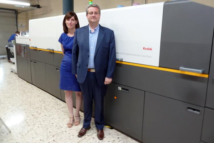 Cevagraf confía en la plataforma KODAK NEXPRESS SX2700 para su transformación en imprenta online