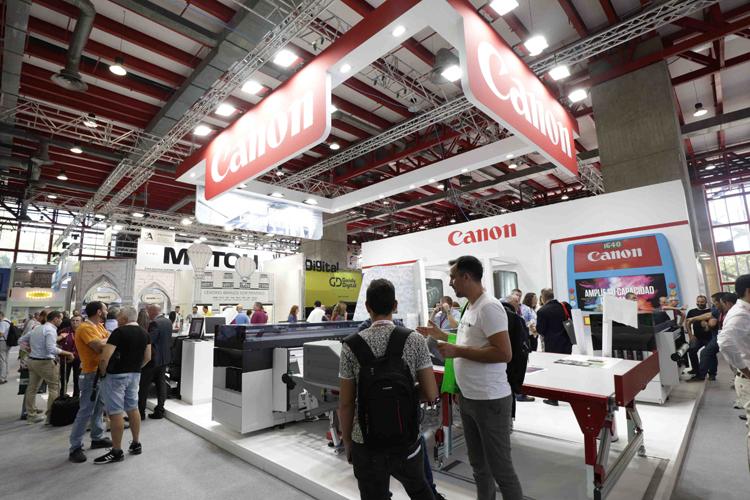 Canon valora positivamente su presencia en C!Print Madrid 2018