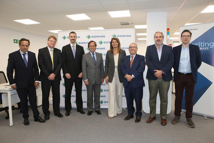 Domino España celebra el acto de inauguración de su nueva sede en la localidad madrileña de Alcobendas