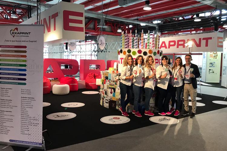 ¡Exaprint celebra su 20 aniversario en C!Print Madrid 2018!