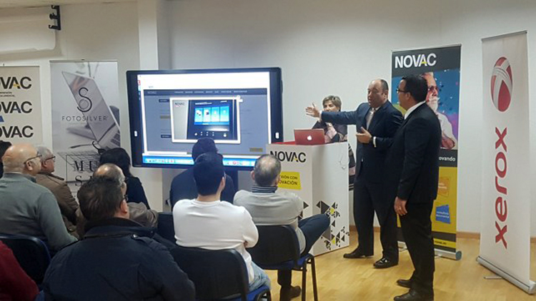 NOVAC te ayuda a afrontar el futuro de la impresión con la colaboración de Xerox, EFI y TEL