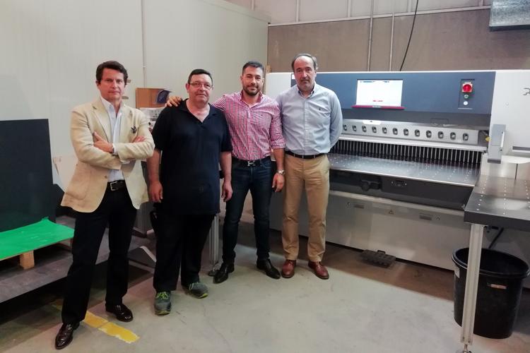 Gómez Aparicio compra un sistema Polar 120 con guillotina N 176 Plus