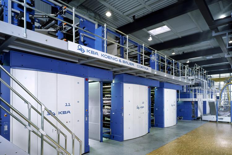 Koenig & Bauer augura un futuro brillante para la máquina offset sin agua Cortina con las planchas IMPRIMA