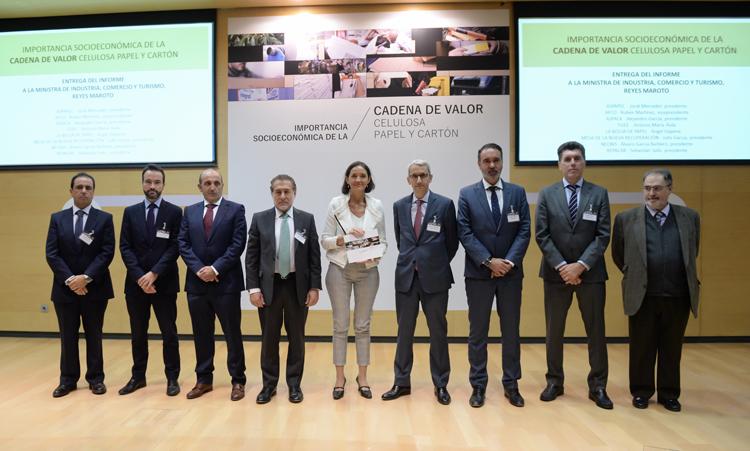 Presentación del informe Importancia socioeconómica de la cadena de valor de la celulosa, papel y cartón