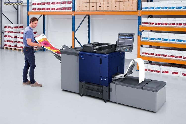 Konica Minolta y EFI anuncian un nuevo controlador Fiery DFE para las impresoras Accurio Press