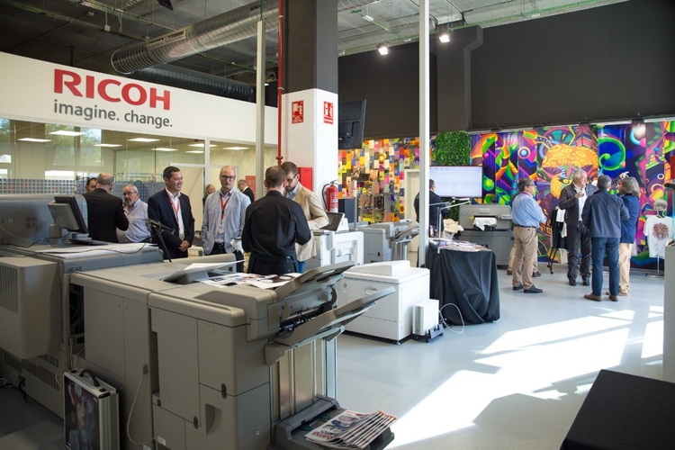Ricoh inaugura en Madrid y Barcelona sus primeros Customer Experience Centres
