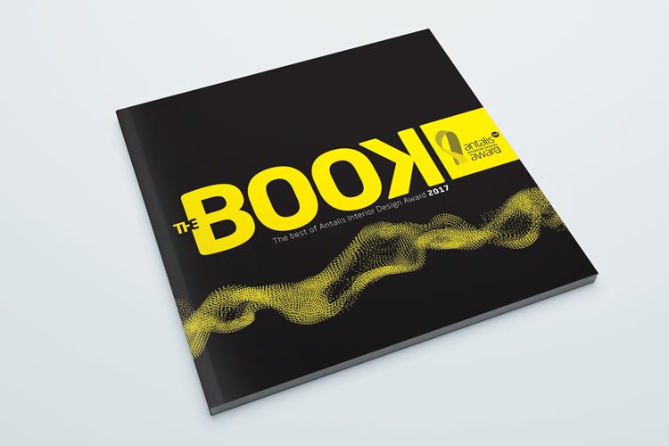 """El libro """"THE BOOK"""" de Antalis descubre los 50 diseños más inspiradores del concurso Antalis Interior Design Award"""
