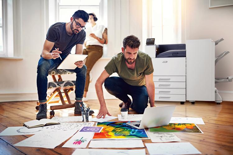 Las nuevas impresoras ConnectKey de Xerox aumentan la productividad y la creatividad en el trabajo