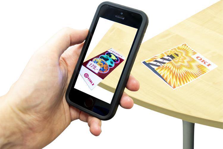 OKI Europe lanza la Aplicación de Realidad Aumentada para el Retail
