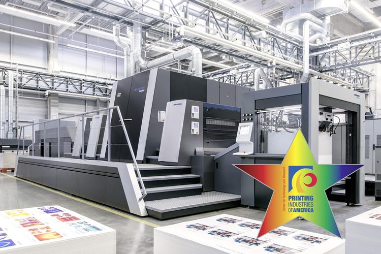 Premio de tecnología InterTech para el sistema de impresión de inyección de tinta industrial Heidelberg Primefire