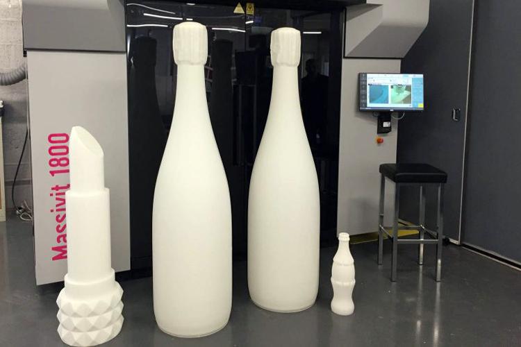 Deko 3D by Sépia completa su oferta de servicio 3D con la solución de impresión Massivit 1800 3D
