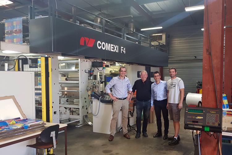 Plastiques Landais renueva su confianza en Comexi con la adquisición de una nueva impresora flexográfica