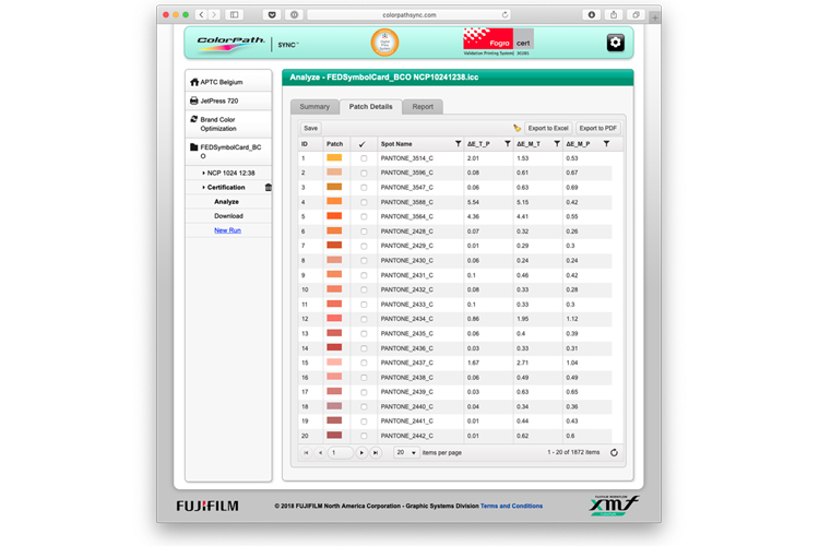 Fujifilm lanza la aplicación XMF ColorPath Brand Color Optimizer