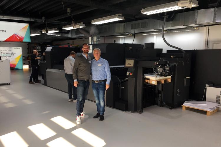 Mediadruckwerk se convierte en una de las primeras empresas en invertir en la impresora inkjet Jet Press 750S B2 de Fujifilm