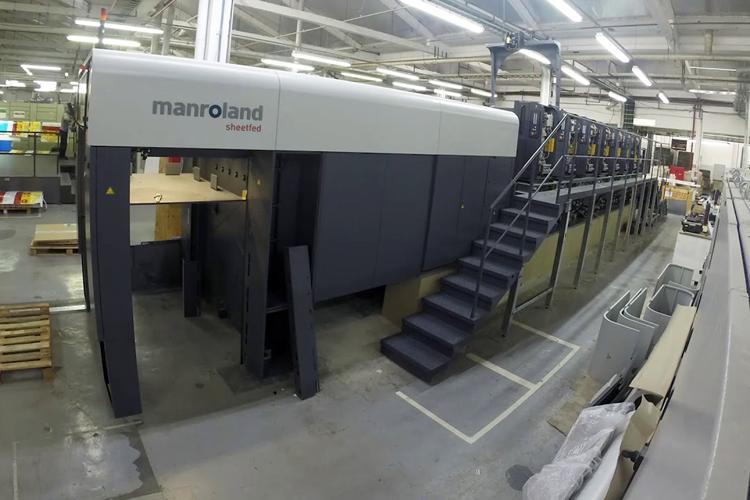 Imprepack, la principal imprenta belga de envases para chocolate, invierte en la ROLAND 705 LV EVOLUTION