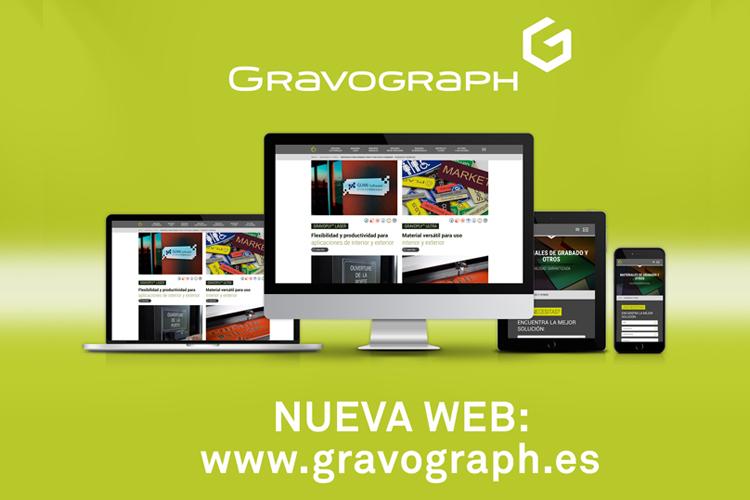 Gravograph lanza su nueva web corporativa