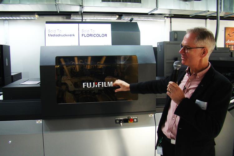 El paso adelante de la nueva Jet Press 750S de Fujifilm