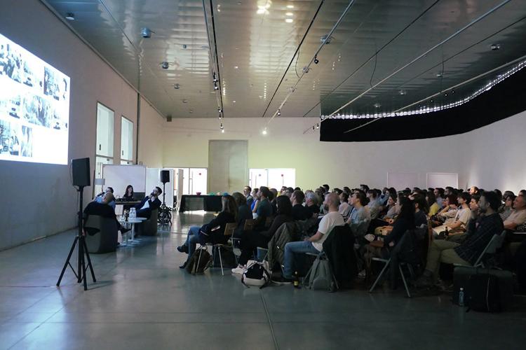 Conferencia sobre los 10 años del estudio de diseño Moruba