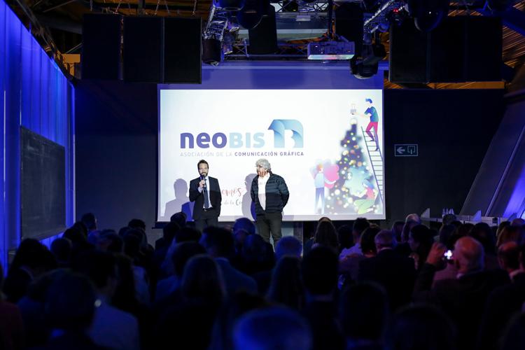 neobis y Heidelberg reúnen al sector en el Evento de Navidad de la Comunicación Gráfica