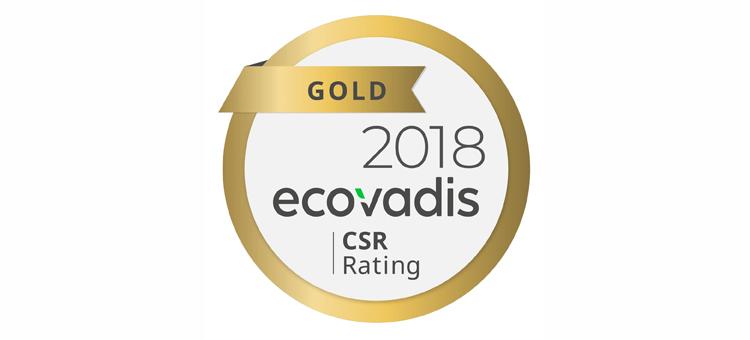 Epson recibe la clasificación EcoVadis Gold por su compromiso general con la sostenibilidad