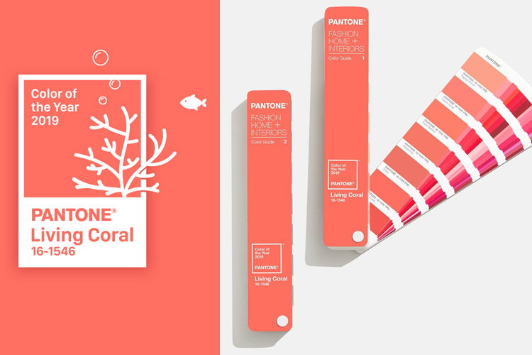 Living Coral, el color Pantone para el 2019